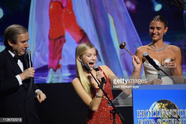Simon de Pury Josie Canseco and Fernanda Liz attend the UCLA IoES honors Barbra Streisand and Gisele Bundchen at the 2019 Hollywood for Science Gala...