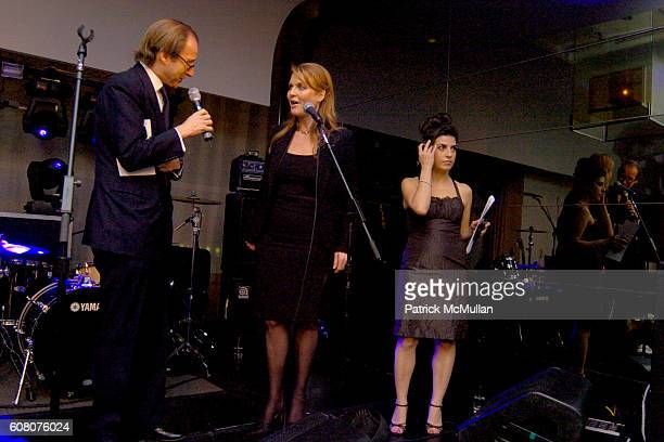 Simon de Pury The Duchess of York Sara Ferguson and Julia Pristorio attend 1st Annual Core Cares Holiday Charity Benefit at Core Club East 55th St on...