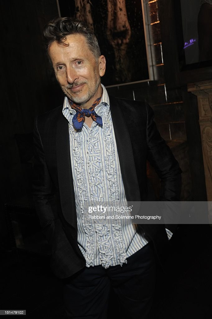 Simon Doonan attends the Destination Iman Website Launch Party at Dream Downtown on September 7, 2012 in New York City.