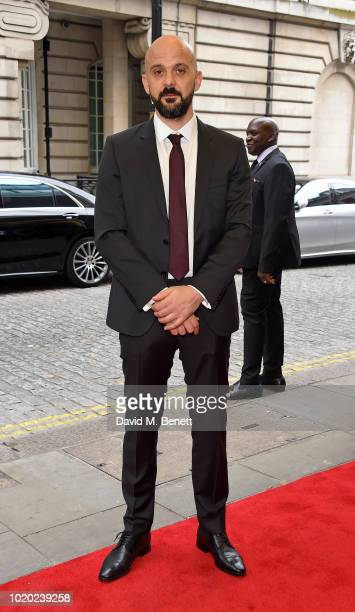 Simon Duric attends a special screening of 'The Innocents' at The Curzon Mayfair on August 20 2018 in London England