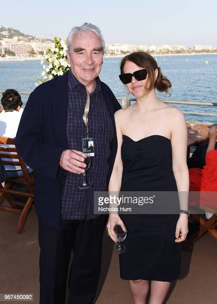 Simon Field and Andrea Picard attend the TIFF OMDC cocktail event at the Cannes Film Festival on May 11 2018 in Cannes France