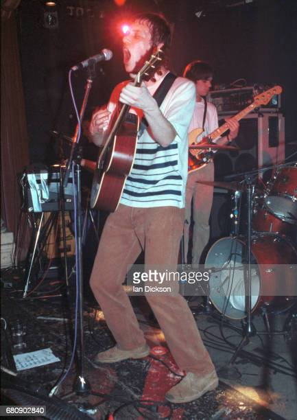 Simon Fowler of Ocean Colour Scene performing on stage at Splash Club Kings X London 18 March 1994