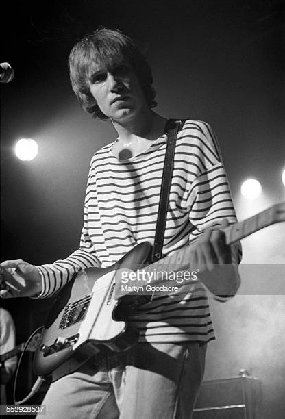 Simon Fowler of Ocean Colour Scene performs on stage in Birmingham United Kingdom 1990