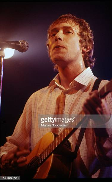 Simon Fowler of Ocean Colour Scene performs on stage United Kingdom 1997