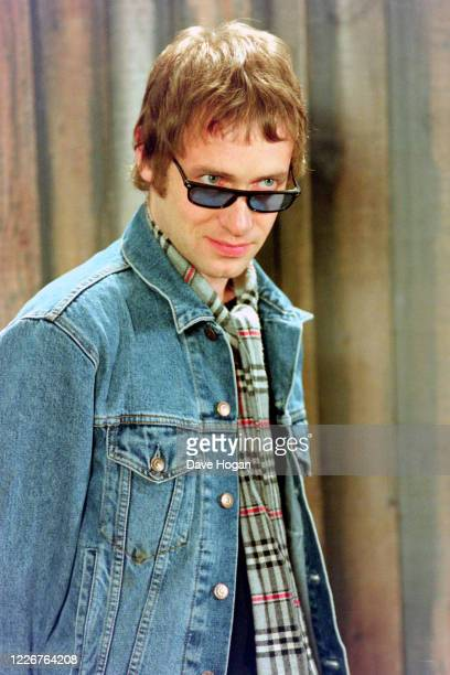 Simon Fowler of Ocean Colour Scene records the video for the single On Top of the World England's official song for the 1998 Fifa World Cup London...