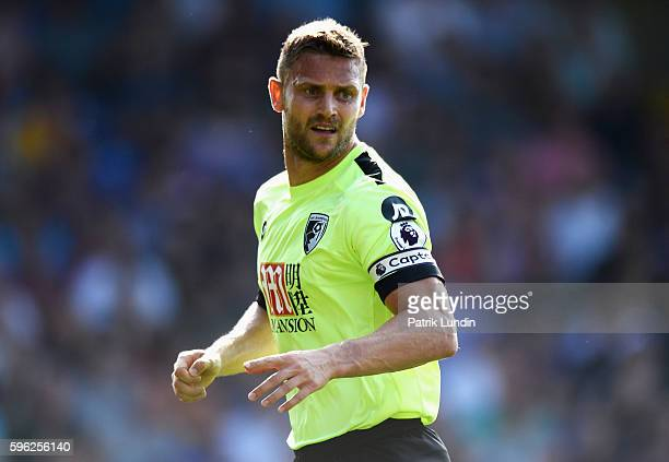 Simon Francis of AFC Bournemouth in action during the Premier League match between Crystal Palace and AFC Bournemouth at Selhurst Park on August 27...