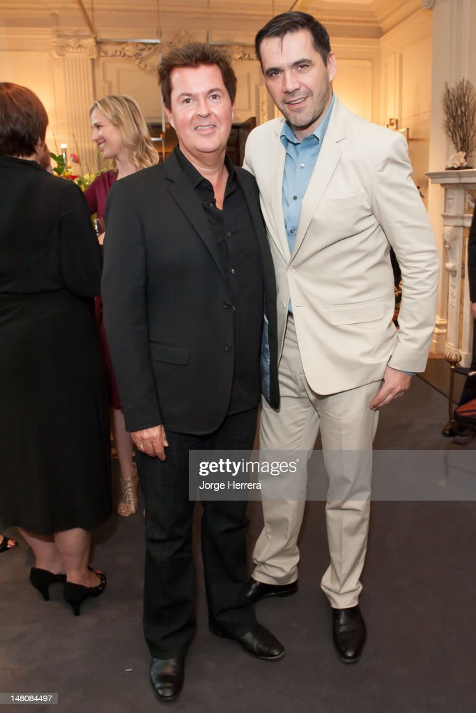 Roland Mouret & Simon Fuller Summer Cocktail Party - Exclusive