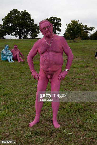 Simon Gandolfi travel writer Colwall Herefordshire He was a participant in a Spencer Tunick Installation of 850 naked painted people and was...