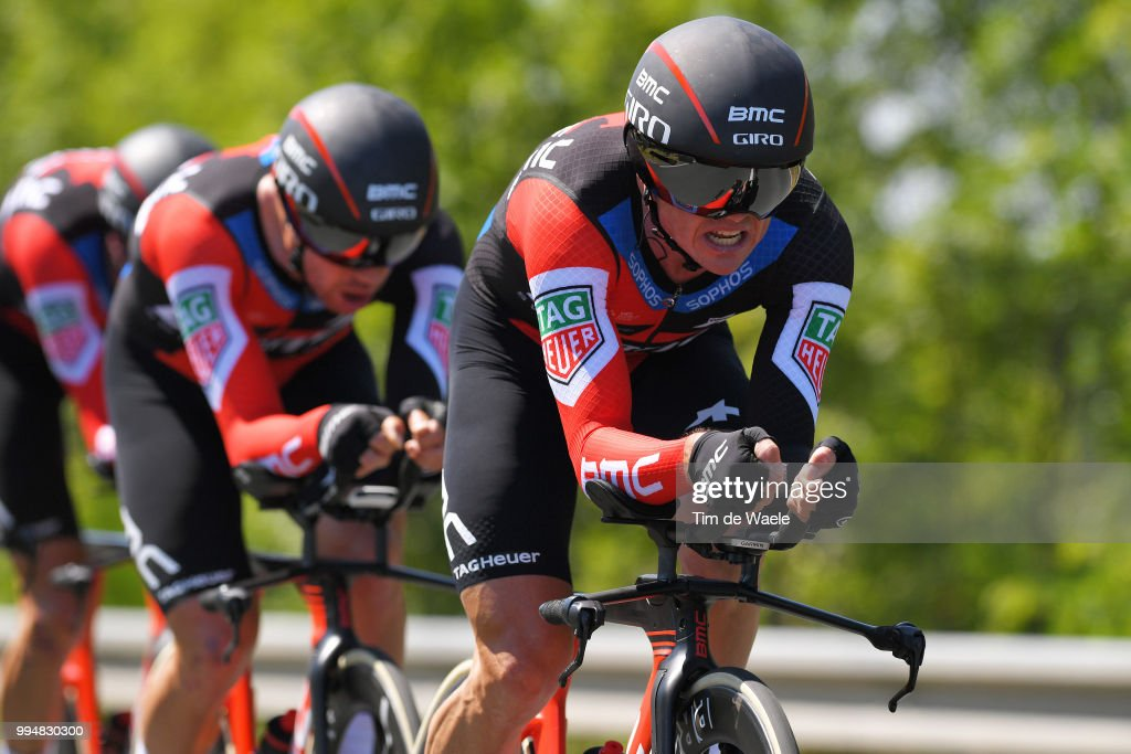 Simon Gerrans of Australia and BMC Racing Team / during the 105th Tour de France 2018, Stage 3 a 35,5km Team time trial stage / TTT / from Cholet to Cholet / TDF / on July 9, 2018 in Cholet, France.