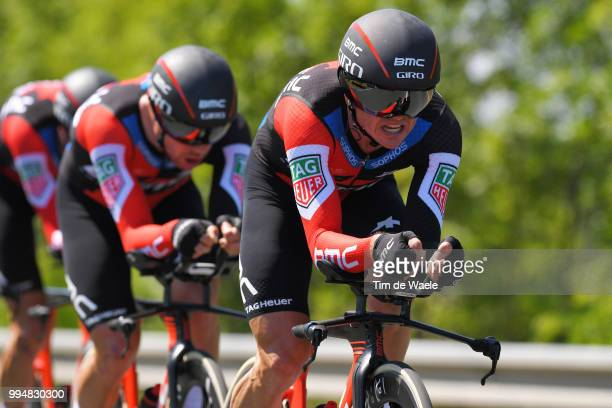 Simon Gerrans of Australia and BMC Racing Team / during the 105th Tour de France 2018 Stage 3 a 355km Team time trial stage / TTT / from Cholet to...