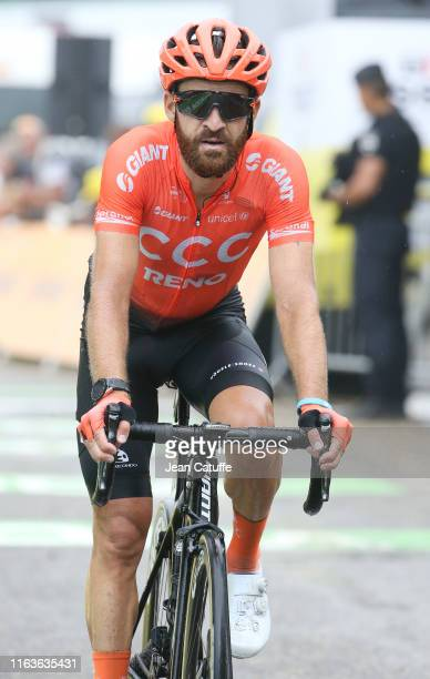 Simon Geschke of Germany and CCC Team crosses the finish line during stage 15 of the 106th Tour de France 2019, a stage from Limoux to Foix - Prat...