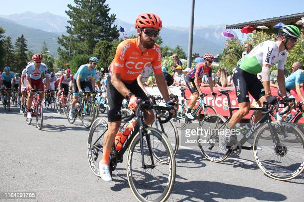 Simon Geschke of Germany and CCC Team during stage 18 of the 106th Tour de France 2019, a stage from Embrun to Valloire on July 25, 2019 in Embrun,...