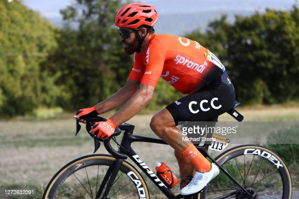Simon Geschke of Germany and CCC Team / during the 107th Tour de France 2020, Stage 16 a 164km stage from La Tour-Du-Pin to Villard-De-Lans 1152m -...