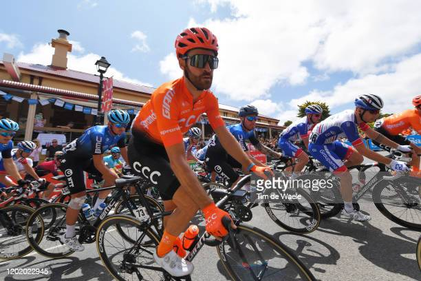 Simon Geschke of Germany and CCC Team / during the 22nd Santos Tour Down Under 2020, Stage 6 a 151,5km stage from McLaren Vale to Willunga Hill 374m...