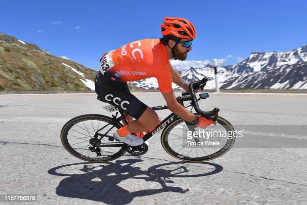 Simon Geschke of Germany and CCC Team / Nufenenpass / Snow / during the 83rd Tour of Switzerland, Stage 9 a 101,5km stage from Ulrichen to Ulrichen /...