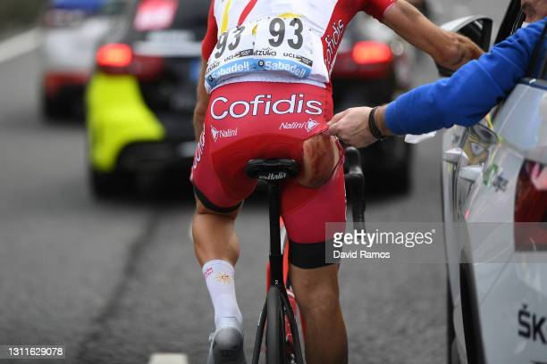 Simon Geschke of Germany and Team Cofidis during the 60th Itzulia-Vuelta Ciclista Pais Vasco 2021, Stage 5 a 160,2km stage from Hondarribia to...