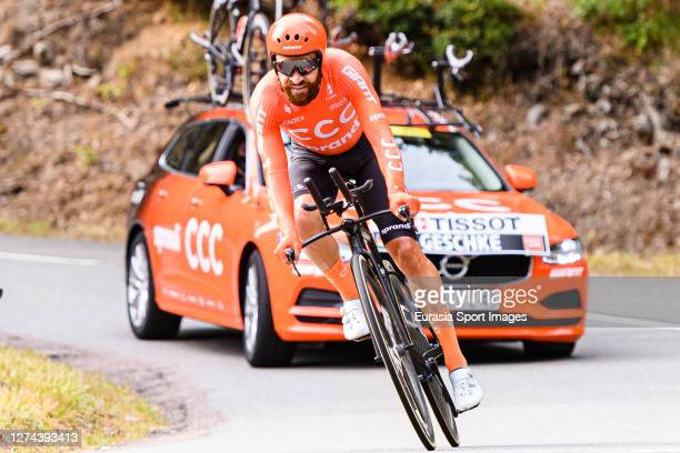 Simon Geschke of Germany - CCC Team during his Individual Time-Trial of Stage 20 on September 19, 2020 in Plancher Bas, France.