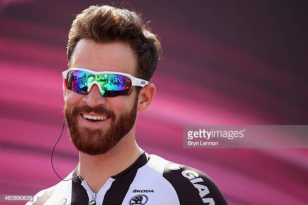 Simon Geschke of Team GiantShimano looks on ahead of the eleventh stage of the 2014 Giro d'Italia a 249km medium mountain stage between Collecchio...