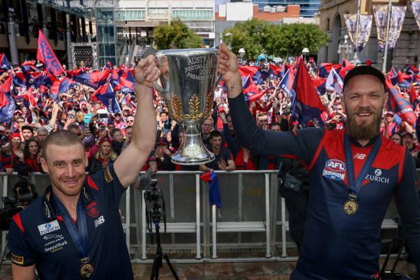 AUS: AFL Premiership Team Celebrations