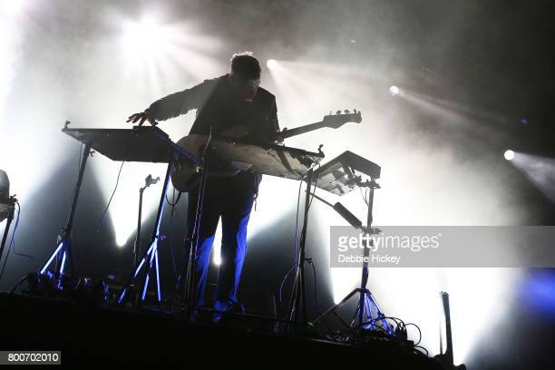 Simon Green aka Bonobo performs with Bonobo at Body Soul Festival at Ballinlough Castle on June 24 2017 in Co Westmeath Ireland