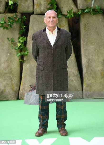 Simon Greenall attends the 'Early Man' World Premiere held at BFI IMAX on January 14 2018 in London England