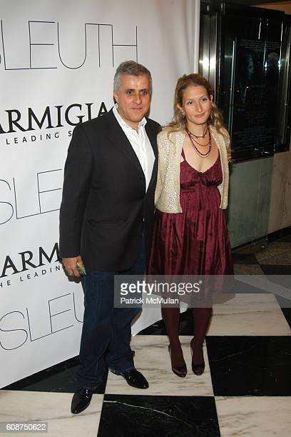 Simon Halfon and attend NY Premiere of Sony Pictures Classics SLEUTH at Paris Theater on October 2 2007 in New York City