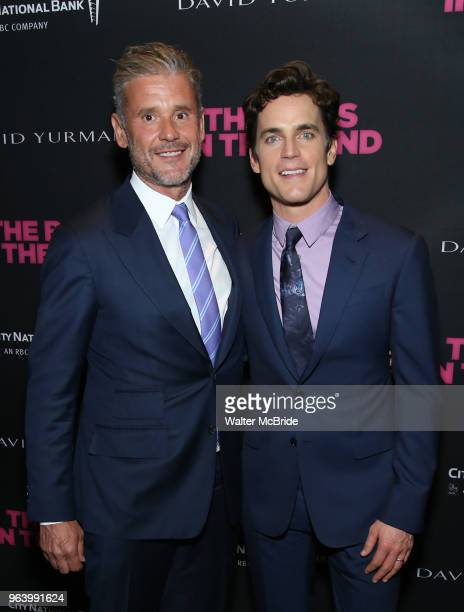 Simon Halls and Matt Bomer attends the 'The Boys In The Band' 50th Anniversary Celebration at The Second Floor NYC on May 30 2018 in New York City