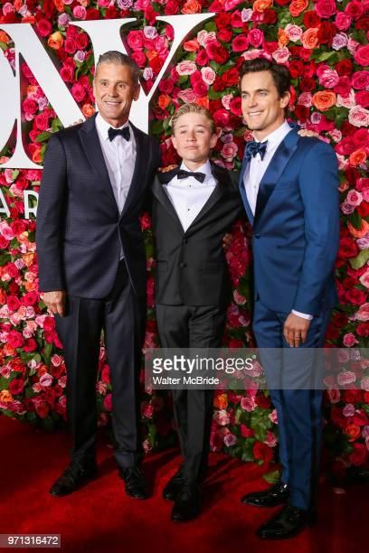 Simon Halls Kit Halls and Matt Bomer attend the 72nd Annual Tony Awards at Radio City Music Hall on June 10 2018 in New York City