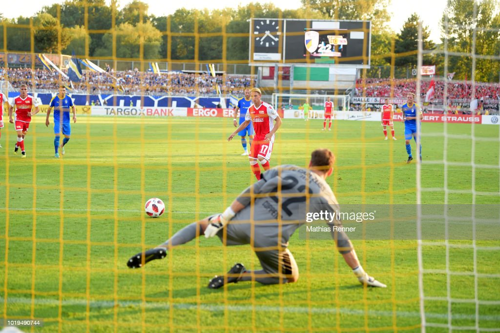 FC Carl Zeiss Jena v Union Berlin - DFB Cup