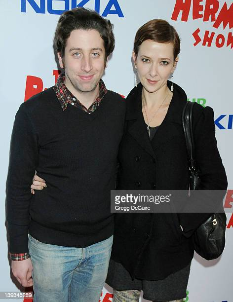 Simon Helberg arrives at the Opening Night of 'The PeeWee Herman Show' at Club Nokia at LA Live on January 20 2010 in Los Angeles California