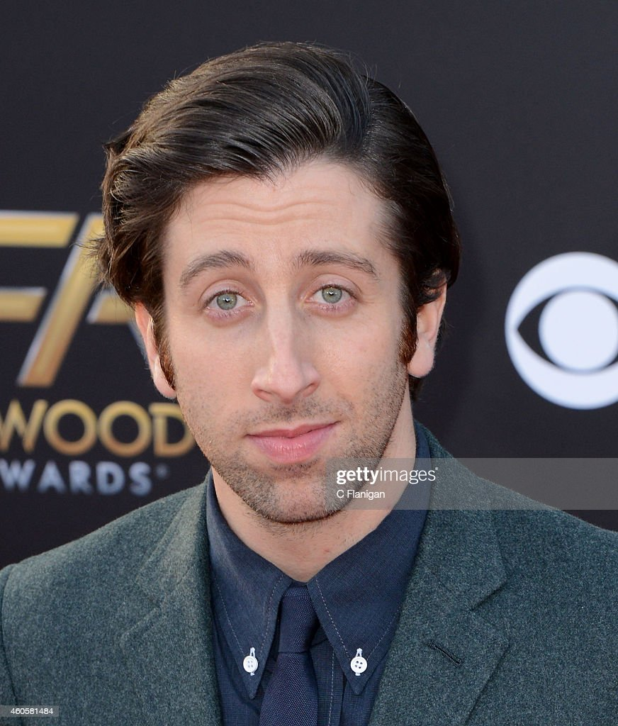 Simon Helberg attends the 18th Annual Hollywood Film Awards at The Palladium on November 14, 2014 in Hollywood, California.