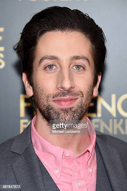Simon Helberg attends the Florence Foster Jenkins New York premiere at AMC Loews Lincoln Square 13 theater on August 9 2016 in New York City
