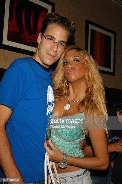 Simon Huck and Samantha Cole attend DJ Cassidy Birthday Party with surprise performance by Doug E Fresh and Slick Rick at Plumm NYC on July 12 2006