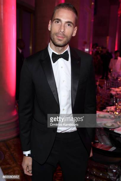 Simon Huck attends Gabrielle's Angel Foundation's Angel Ball 2017 at Cipriani Wall Street on October 23 2017 in New York City