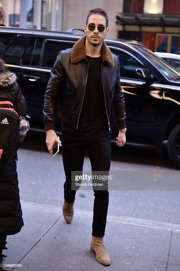 Street Style - New York Fashion Week February 2019 - Day 3 : Nachrichtenfoto