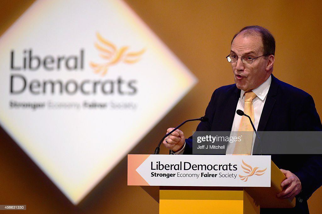 The Liberal Democrats Hold Their Annual Party Conference At SECC Glasgow : News Photo
