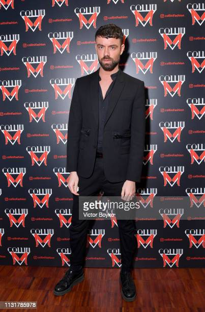 Simon Hunter attends Collini Unminimal Party Milan Fashion Week Autumn / Winter 2019/20 on February 20 2019 in Milan Italy