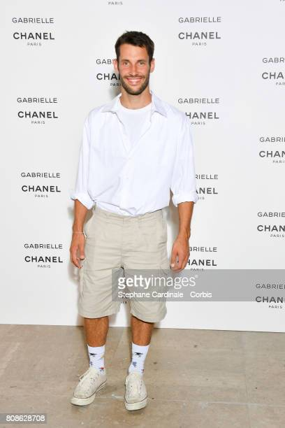 Simon Jacquemus attends the launch party for Chanel's new perfume Gabrielle as part of Paris Fashion Week on July 4 2017 in Paris France