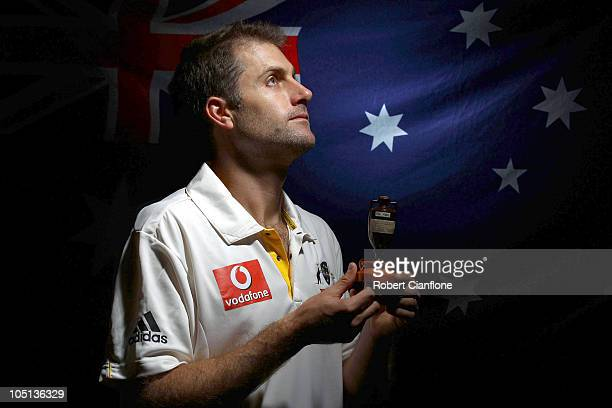 Simon Katich of Australia poses for a portrait during the Cricket Australia player camp at the Hyatt Coolum on August 23 2010 in Coolum Beach...