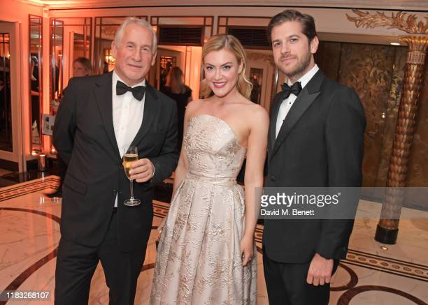 Simon Kelner Camilla Kerslake and Jack Freud attend the Walpole British Luxury Awards 2019 at The Dorchester on November 18 2019 in London England