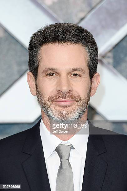 Simon Kinberg attends a Global Fan Screening of 'XMen Apocalypse' at BFI IMAX on May 9 2016 in London England