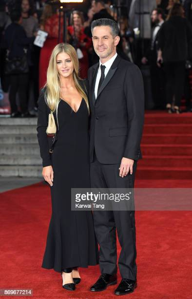 Simon Kinberg attends the 'Murder On The Orient Express' World Premiere at Royal Albert Hall on November 2 2017 in London England