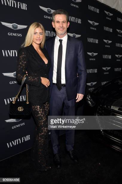 Simon Kinberg attends the Vanity Fair and Genesis along with 20th Century Fox and Fox Searchlight Pictures celebration of their nominated films on...