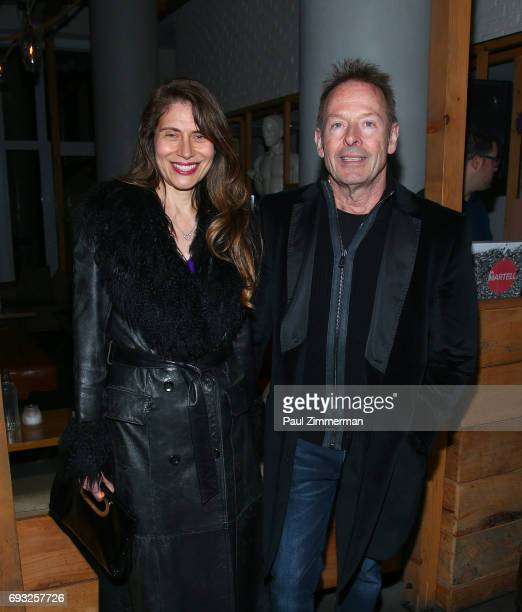 """Simon Kirke attends the Gucci & The Cinema Society after party of Roadside Attractions' """"Beatriz At Dinner"""" at Mr. Purple on June 6, 2017 in New York..."""