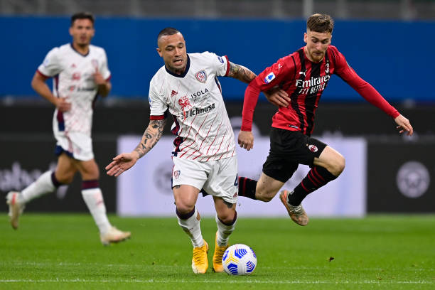 ITA: AC Milan  v Cagliari Calcio - Serie A