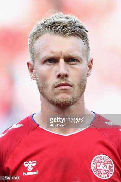 Simon Kjaer of Denmark during the international friendly match between Denmark and Mexico ahead of the FIFA World Cup Russia 2018 at Brondby Stadion...