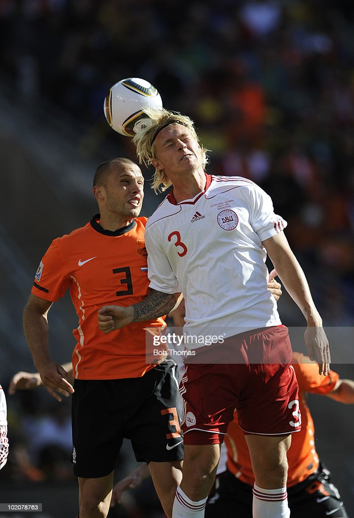 Netherlands v Denmark: Group E - 2010 FIFA World Cup : News Photo