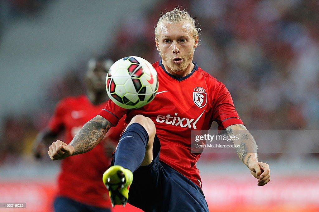 LOSC Lille v Grasshopper Club  - UEFA Champions League Third Qualifying Round: Second Leg : News Photo