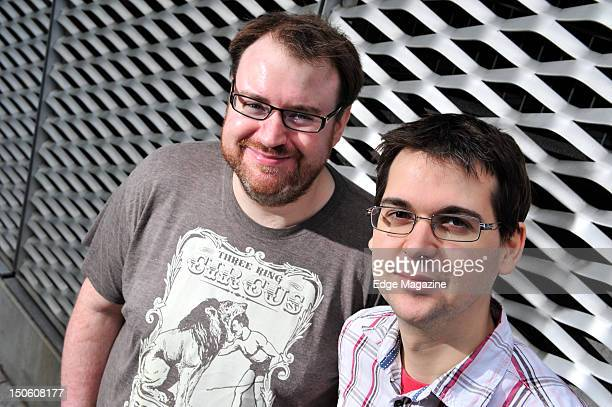 Simon Lane and Lewis Brindley vocal commentators on video games and on YouTube channel Yogscast September 26 2011