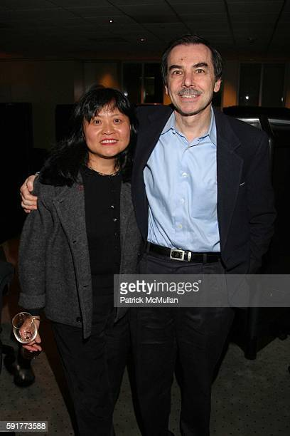 Simon Lazowsky and Huei Lazowsky attend A Centennial Celebration for Harold Arlen at The Museum of Television and Radio on October 17 2005 in New...